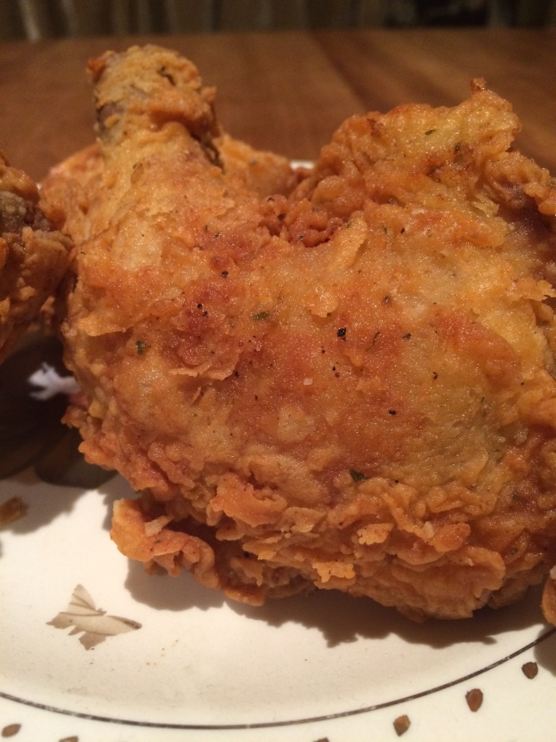 chicken plated